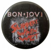Bon Jovi - 'Slippery When Wet' Button Badge